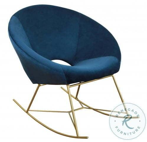 Delilah Navy Textured Velvet Upholstered Platform Bedroom Set with Mason Side Table