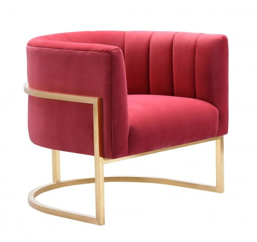 Incroyable LOOKS GREAT WITH. Image Of Item Magnolia Hot Pink Velvet Chair