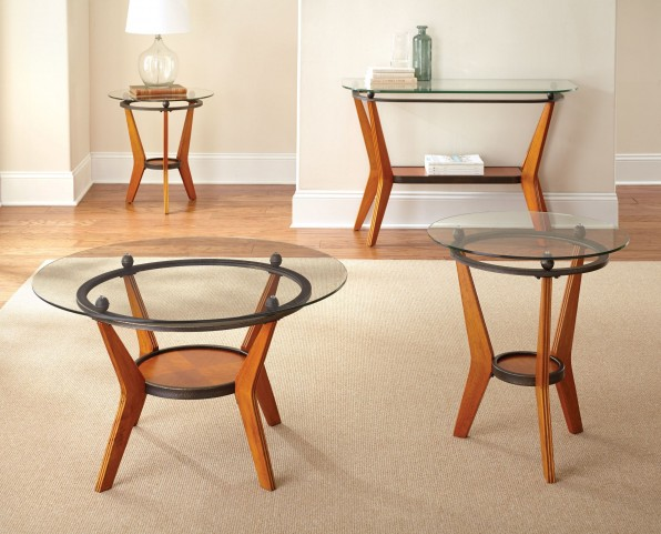 Saxony 3 Piece Occasional Table Set