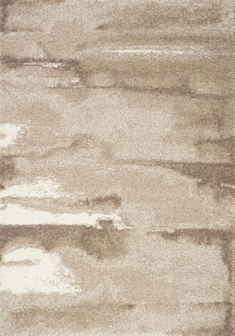 Sable Brown and Cream Cirrus Large Rug