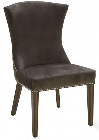Sabrina Fossil Grey Fabric Dining Chair