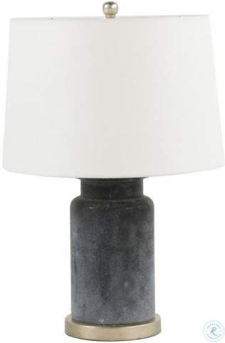 Cohen Rustic Black Glass Table Lamp From Gabby Coleman Furniture