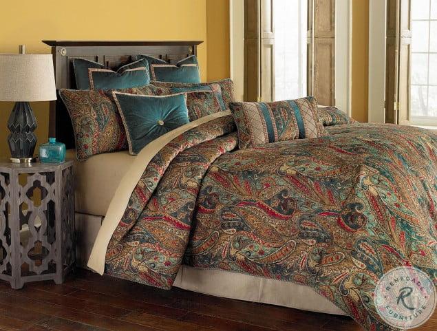 Seville Honey 10 Piece King Comforter Set