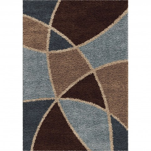 Abstract Duchess Brown Medium Rug