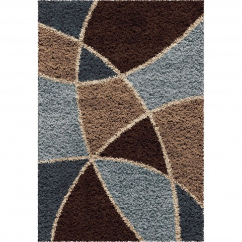 Abstract Duchess Brown Small Rug
