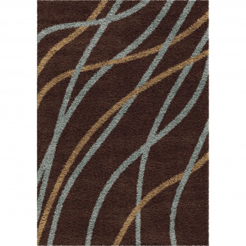 Gentle Breeze Brown Medium Rug