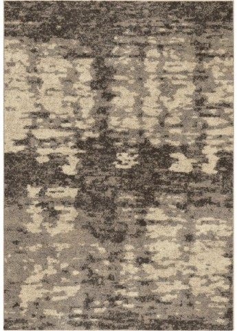 Orian Rugs Plush Abstract Rada Gray Area Medium Rug