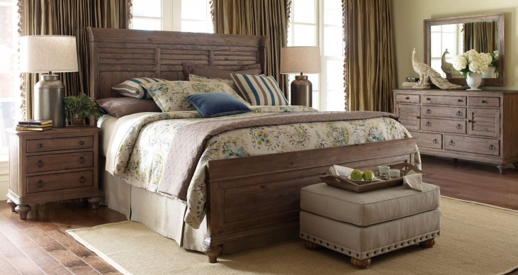 Weatherford Heather Shelter Bedroom Set