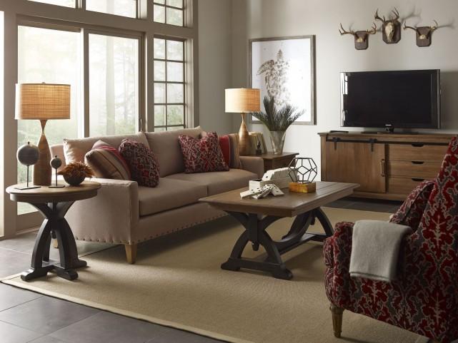 Stone Ridge Rectangular Occasional Table Set