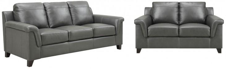 Sienna Dark Gray Living Room Set