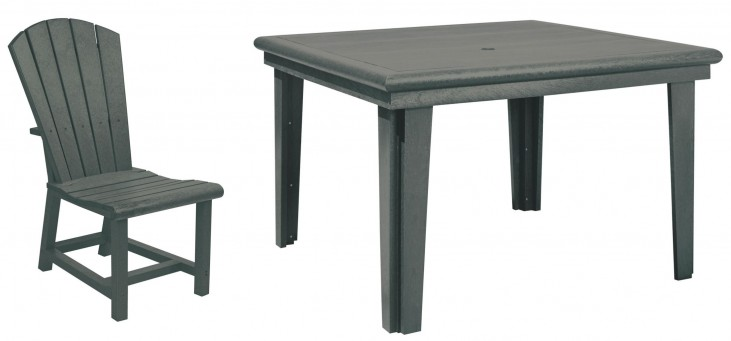 "Generations Slate 46"" Square Dining Room Set"