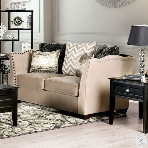 Hampden Beige Living Room Set
