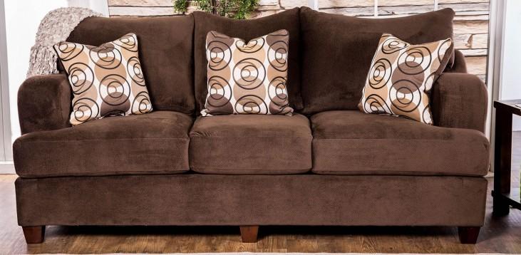 Wessington Chocolate Living Room Set