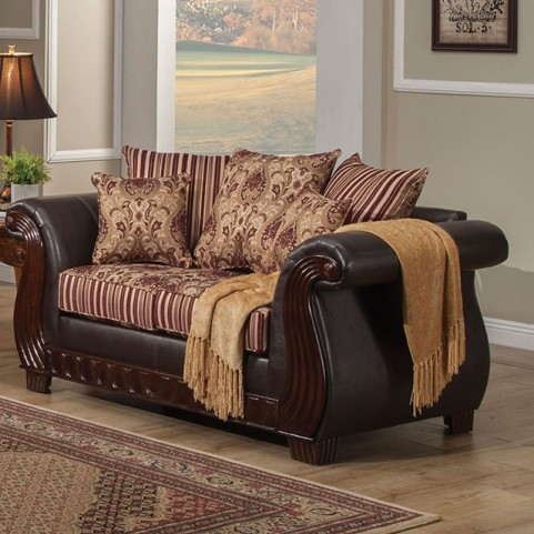 Rutherford Wine Loveseat