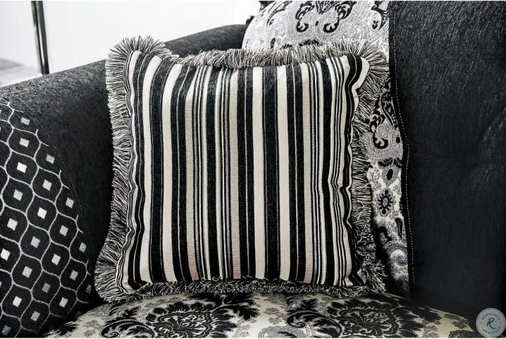 Ronja Black Living Room Set