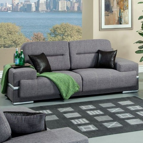 Thessaly Gray Sofa