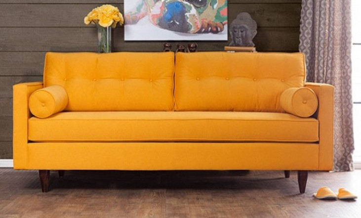 Madelyn Yellow Sofa