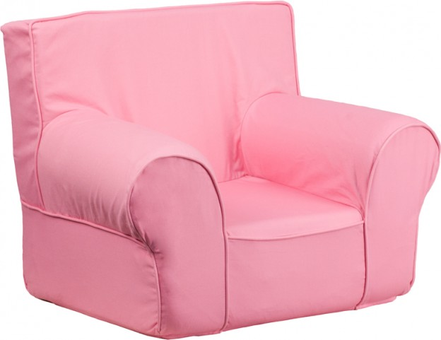 Small Solid Light Pink Kids Chair