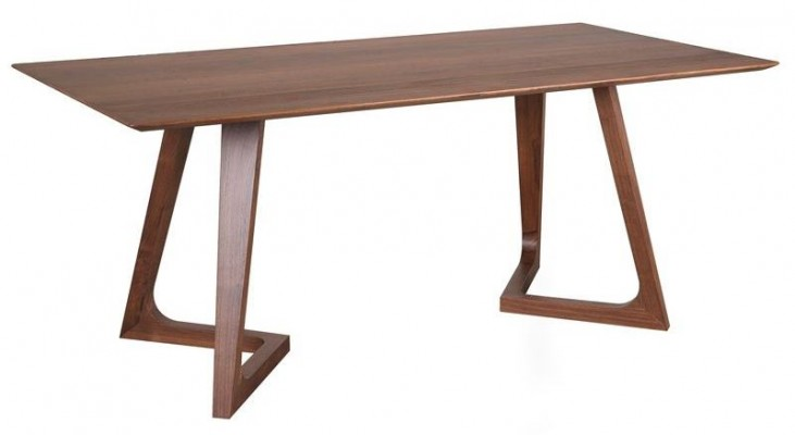 Soul American Walnut Rectangular Dining Table