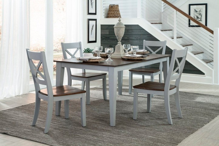 Small Space Rectangular Dining Room Set From Intercon