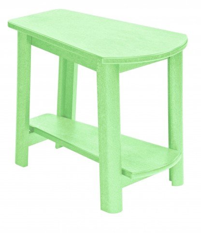 Generations Lime Green Tapered Accent Table