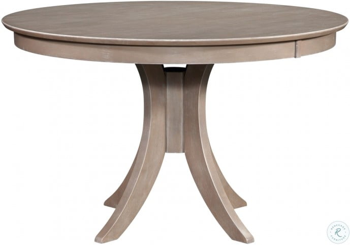 Cosmopolitan Taupe Gray Siena 48 Round Dining Table From John Thomas Coleman Furniture