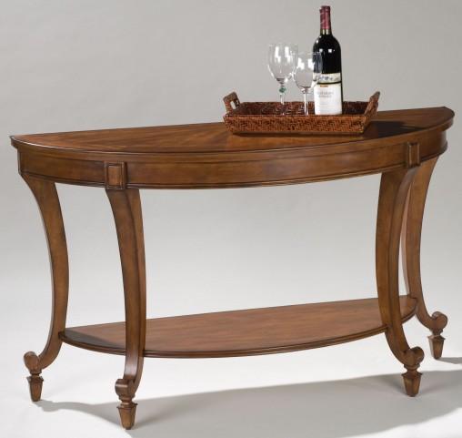 Aidan Demilune Sofa Table