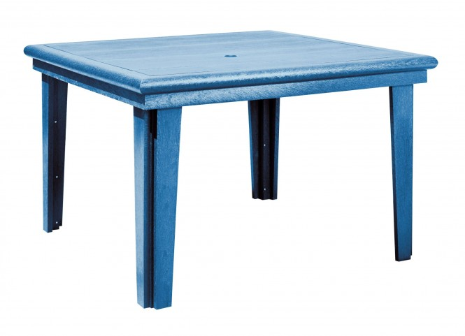 """Generations Blue 46"""" Square Dining Table"""