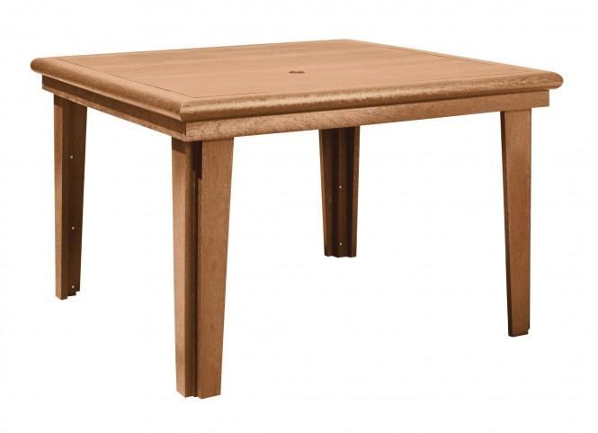 "Generations Cedar 46"" Square Dining Table"