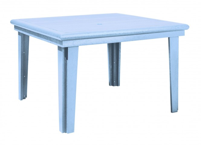 """Generations Sky Blue 46"""" Square Dining Table"""