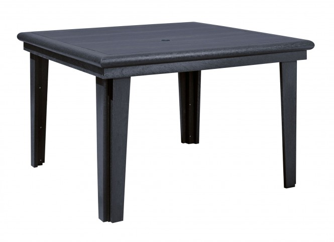 """Generations Black 46"""" Square Dining Table"""