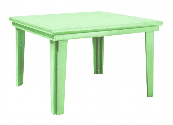 """Generations Lime Green 46"""" Square Dining Table"""