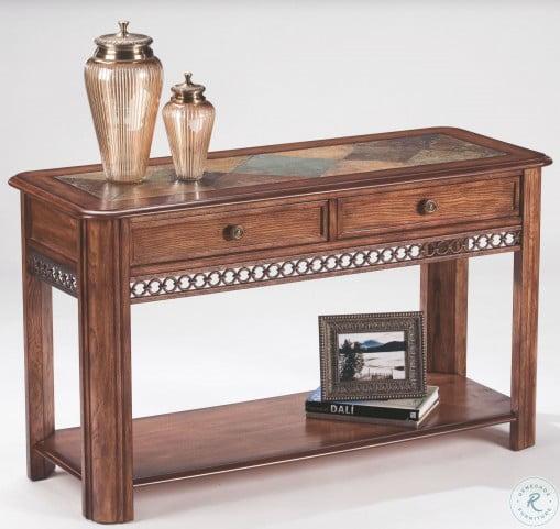 Madison Warm Nutmeg Occasional Table Set