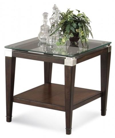 Dunhill Cappuccino Rectangular End Table
