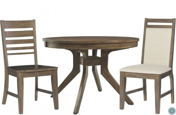 Luxe Pewter Round Dining Table From John Thomas Coleman Furniture