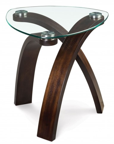 Allure Oval End Table