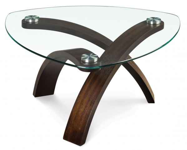 Allure Pie Shaped Cocktail Table