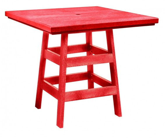 "Generation Red 42"" Square Pub Table"