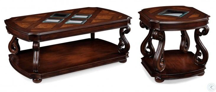 Harcourt Rectangular End Table