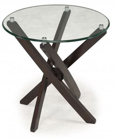 Xenia Round End Table