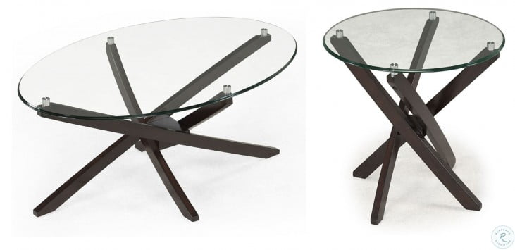 Xenia Round End Table