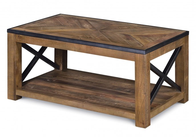 Penderton Small Rectangular Casters Cocktail Table