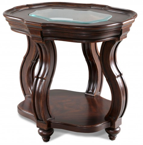 Isabelle Oval End Table
