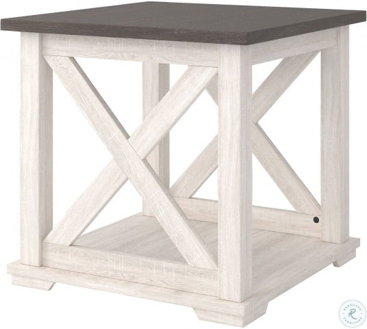Dorrinson Two Tone End Table