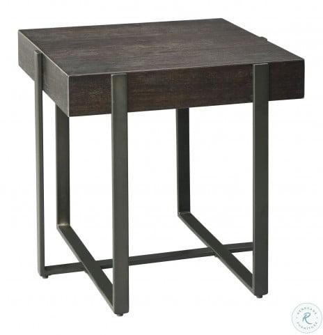 Drewing Dark Brown End Table