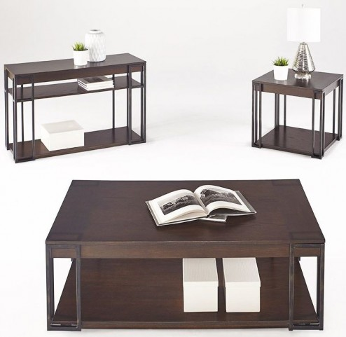 Citation and Metal Occasional Table Set