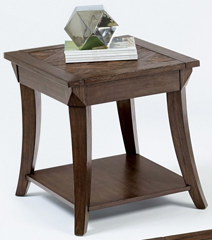 Appeal l Dark Poplar Rectangular End Table