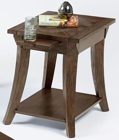 Appeal l Dark Poplar Chairside Table