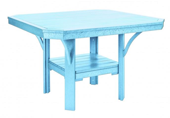 "St Tropez Aqua 45"" Square Dining Table"