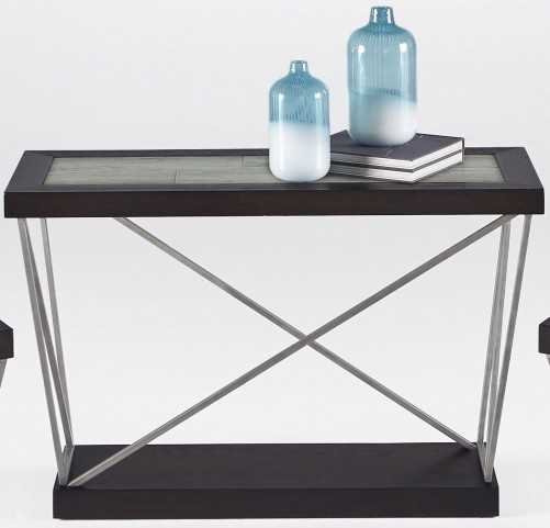 East Bay Woodtone Tile Sofa/Console Table